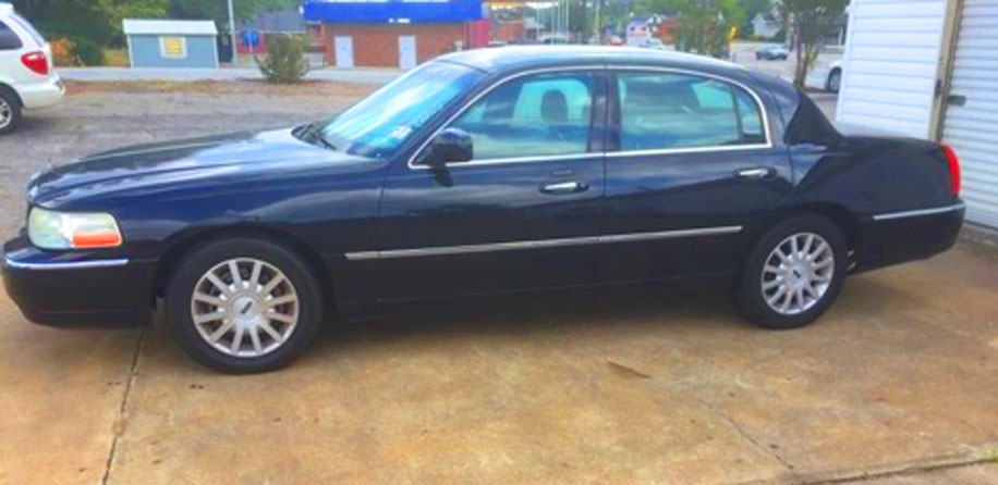 Greenville Town Car Services Greenville Sc